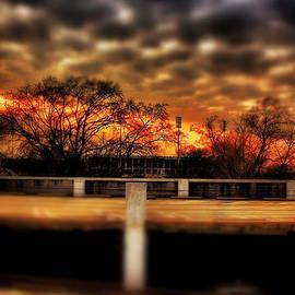 Jim Albritton - Stadium Sunset