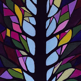 Kathleen Sartoris - Stain Glass Tree