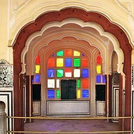 Kim Bemis - Stained Glass at the Women City Palace - Jaipur India