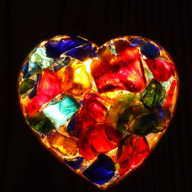 Kerstin Ivarsson - Stained Glass Heart