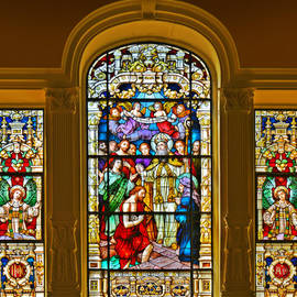 Christine Till - Stained Glass Window Cathedral St Augustine