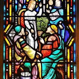Kim Bemis - Stained Glass Windows at St. Edmond Church 1 - Rehoboth Beach Delaware