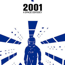 Kevin Trow - Stanley Kubrick 2001 A Space Odyssey Movie Poster