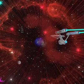 Michael Rucker - Star Trek - Punch It