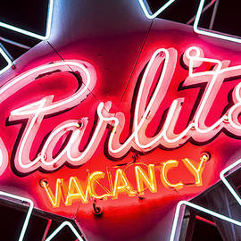 John Wayland - Starlite Motel Vintage Neon Sign in Las Vegas Nevada