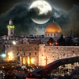 Michael Braham - Starry Night At The Dome of the Rock