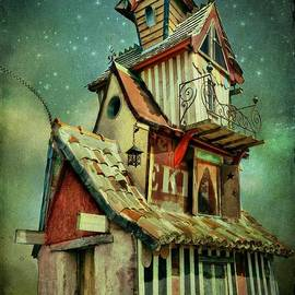 Barbara Orenya - Starry night at the Little Mansion
