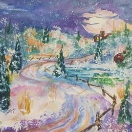 Ellen Levinson - Starry Night in a Winter Wonderland