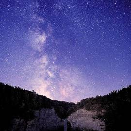 Paul Ge - Starry Night Of Taughannock Waterfalls