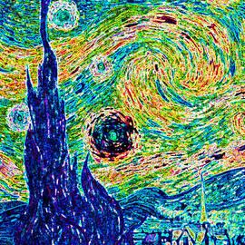 Jerome Stumphauzer - Starry Night Revisited
