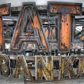 Jane Linders - State Bank Sign
