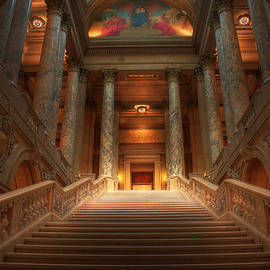 Wayne Moran - State Capitol of Minnesota Staircase