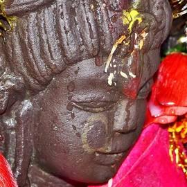 Kim Bemis - Statue at the Vishwanath Temple - India