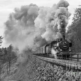 Christian Spiller - Steam train at the Schiefe Ebene