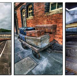 Ian Mitchell - Steam Train Memories Tryptych
