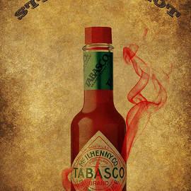 Eti Reid - Steaming hot Tabasco poster
