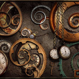 Mike Savad - Steampunk - Abstract - Time is complicated