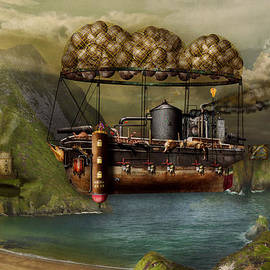 Mike Savad - Steampunk - Airship - The original Noah