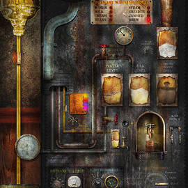 Mike Savad - Steampunk - All that for a cup of coffee