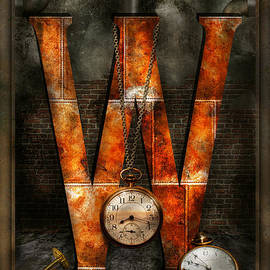 Mike Savad - Steampunk - Alphabet - W is for Watches