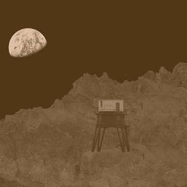 Richard Reeve - Steampunk - Brunel Moon Lander