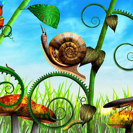Mike Savad - Steampunk - Bugs - Evolution take time
