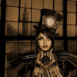 Amanda Lee Tzafrir - Steampunk Factory Captain I