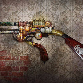 Mike Savad - Steampunk - Gun - The sidearm