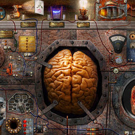 Mike Savad - Steampunk - Information overload