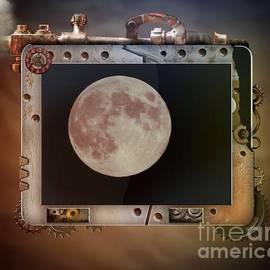 Deniece Platt - Steampunk iPad Moon