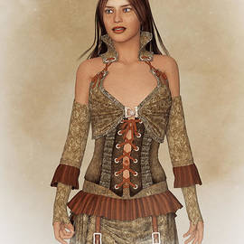 Liam Liberty - Steampunk Lady