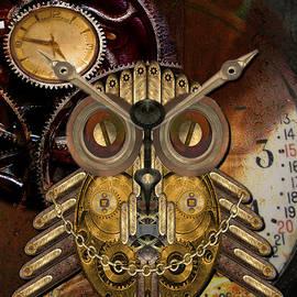 Shannon Story - Steampunk Owl