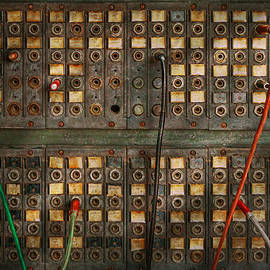 Mike Savad - Steampunk - Phones - The old switch board
