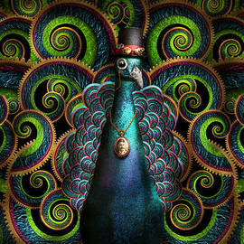 Mike Savad - Steampunk - Pretty as a peacock