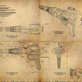 James Christopher Hill - Steampunk Raygun