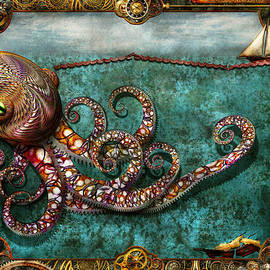 Mike Savad - Steampunk - The tale of the Kraken