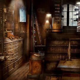 Mike Savad - Steampunk - Tool room of a mad man