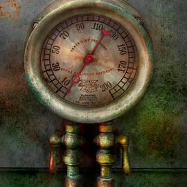 Mike Savad - Steampunk - Train - Brake cylinder pressure
