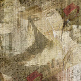 Absinthe Art By Michelle LeAnn Scott - Steampunk Woman
