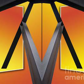 Thomas Woolworth - Steel Beams 02 Mirror Image