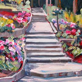 Robert Gerdes - Steps in the Rose Garden