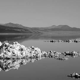 Bruce Friedman - Still Lake BW - Mono Lake - California