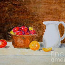 Laurel Best - Still Life Apples and Oranges