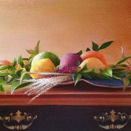Richard Ginnett - Still Life Centerpiece