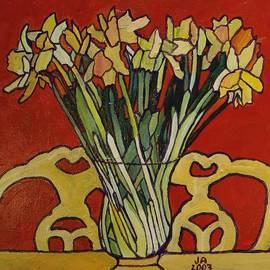 Janet Ashworth - Still Life of Flowers