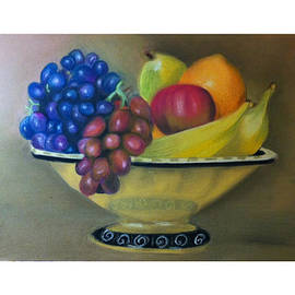 Graciela Scarlatto - Still life pastel