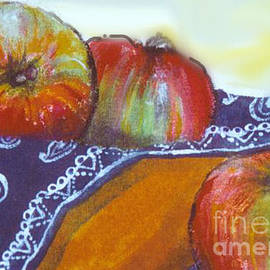 Cecily Mitchell - Still Life with Apples