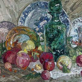 Sergey Sovkov - Still Life with Apples