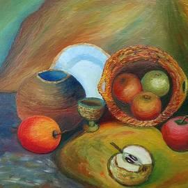 Stefan Silvestru - Still life with apples