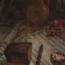 Vasilij Belikov - Still life with bread and salt